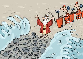 Moises teria um grande problema nos dias atuais...