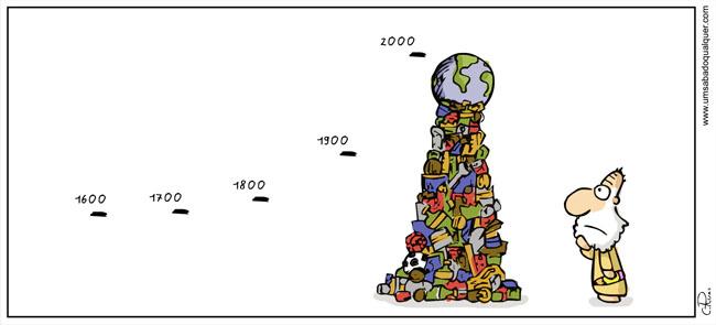 Com tanto lixo onde vamos parar?