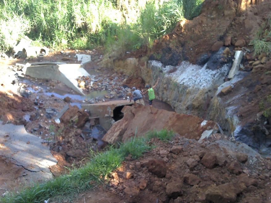 Córrego Tamanduá - Aparecida de Goiânia