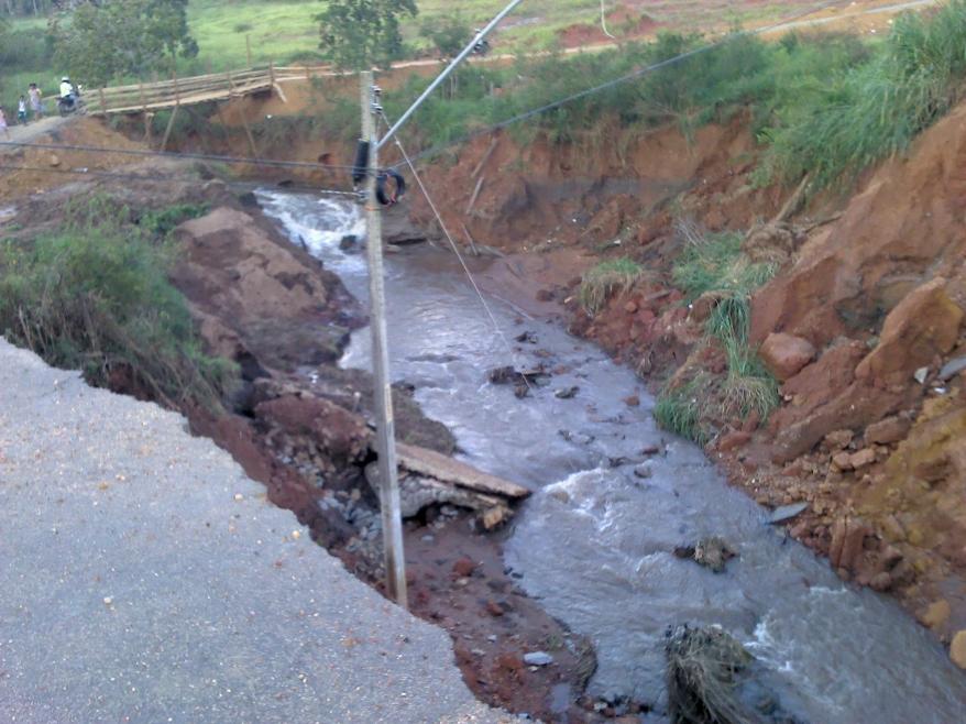 Córrego Saco Feio - Madre Germana - Aparecida de Goiânia