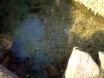 Poço de águas cristalinas na serra