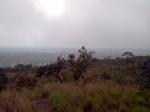 Visão da cidade de Aparecida de Goiânia num dia nublado - serra das areias
