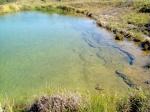 Represa de águas cristalinas
