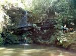 Cachoeira em reserva particular - Serra das areias