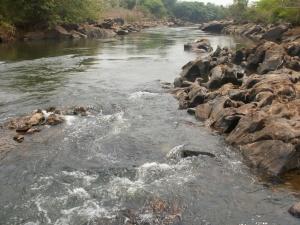 Rio Meia Ponte em Pontalina-GO