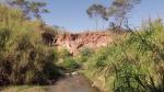 Córrego e suas águas já misturadas ao esgoto