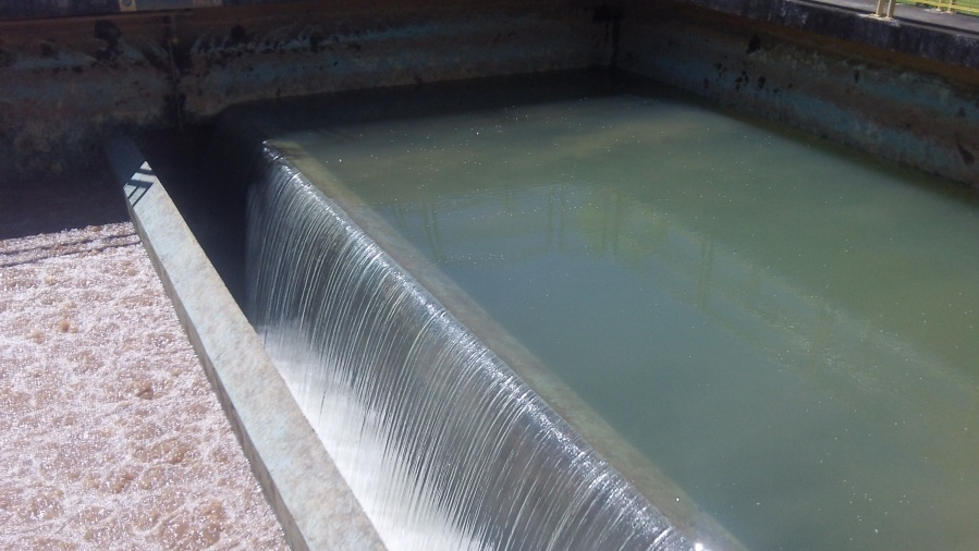 Filtragem da água